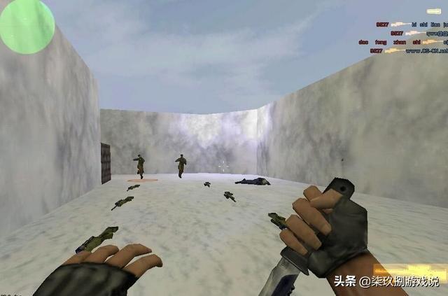 曾经的经典游戏《CS》,你还记得吗?永恒的经典