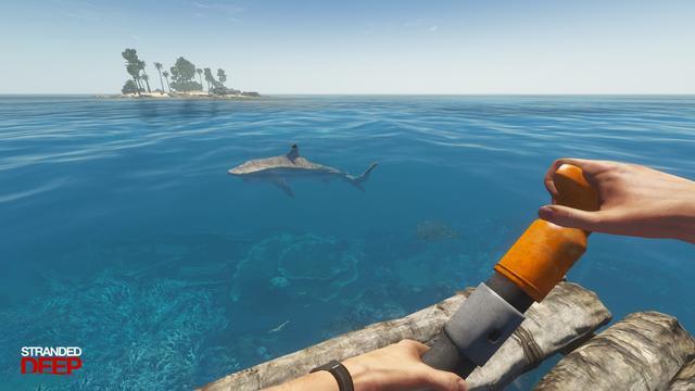 一款非常有趣的野外求生的游戏——《深海搁浅》,体验感极强!
