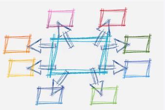 网络图怎么画?如何快速绘制出好看的网络图